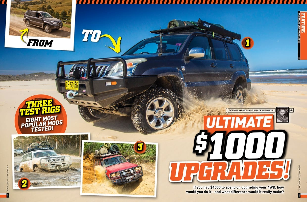 Ultimate 1000 Upgrades Feature 4wdaction Issue 279 January 2018 Raw 4x4 Raw 4 4
