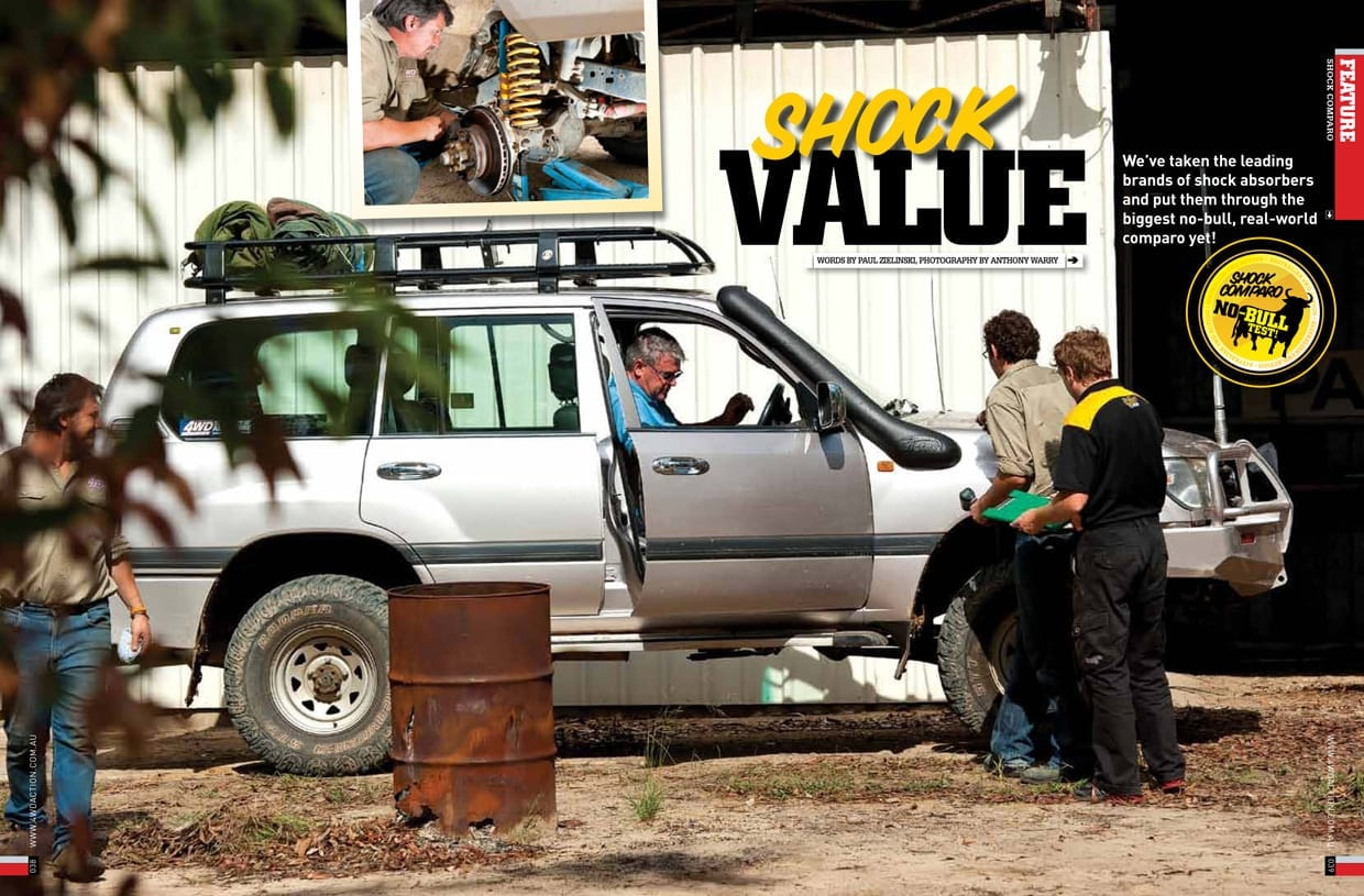 From the archives - SHOCK VALUE: The No-Bull test - Raw 4x4