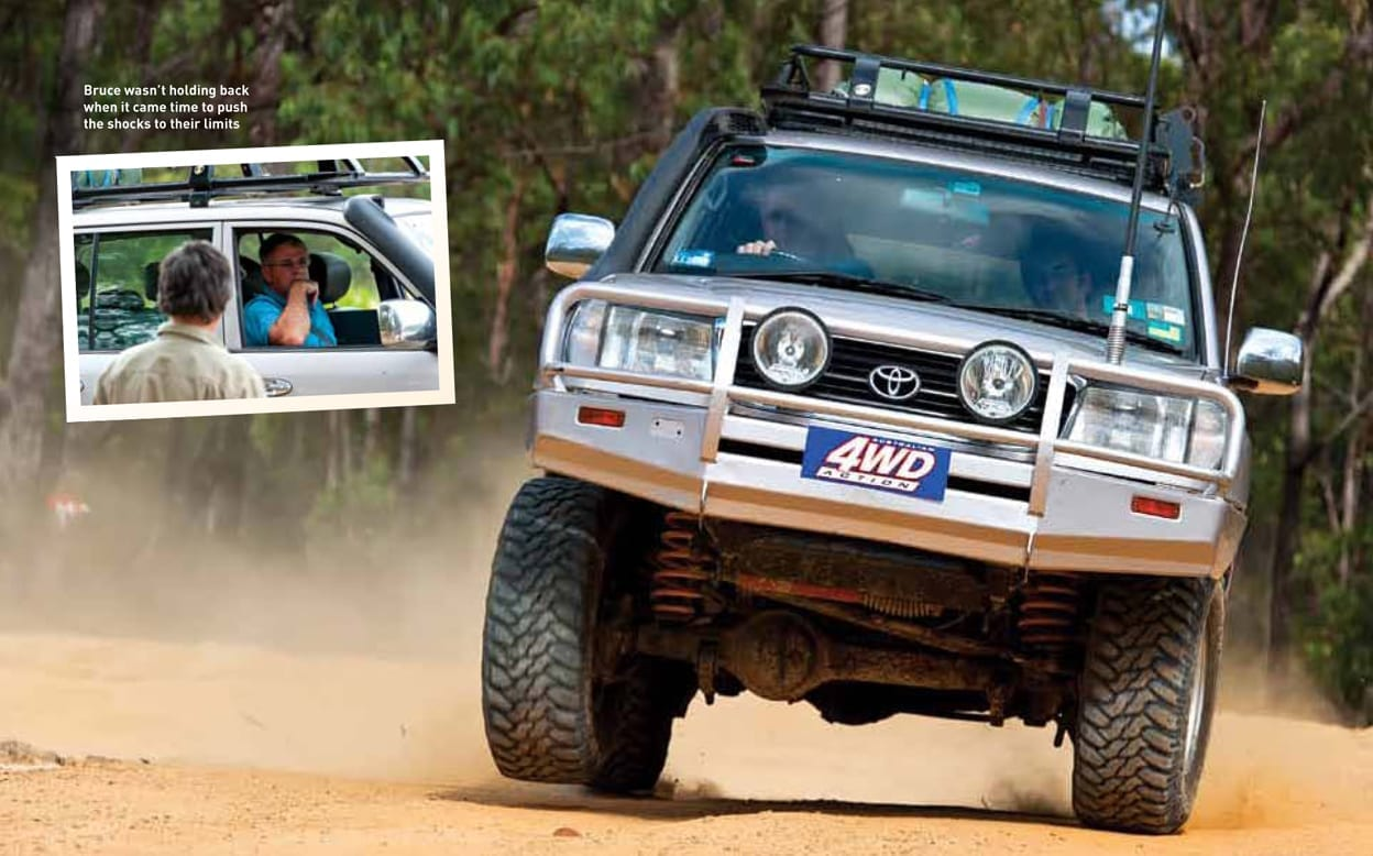 From the archives - SHOCK VALUE: The No-Bull test - Raw 4x4 : Raw 4×4
