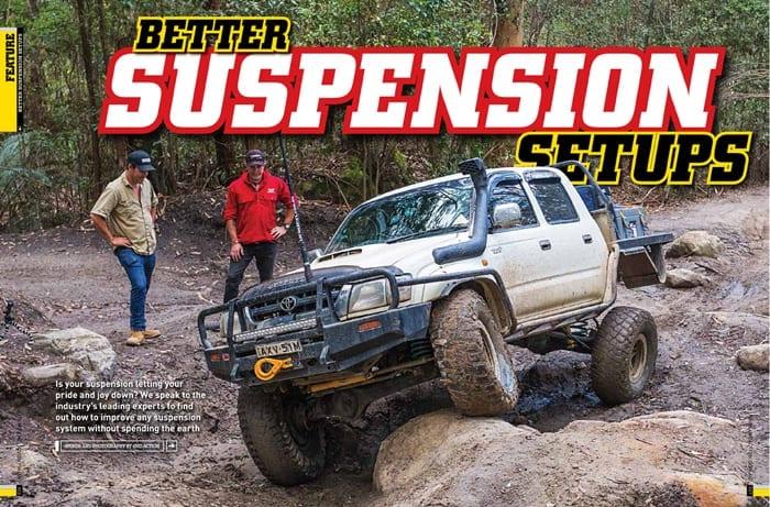 BETTER SUSPENSION SETUPS - Raw 4x4 : Raw 4×4